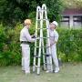 Cách sử dụng thang nhôm rút đôi an toàn